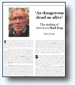 Front cover of 'As Dangerous Dead As Alive'