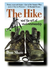 Don Shaw's debut novel, The Hike