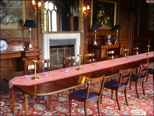 Hampton Court Castle Dining Room