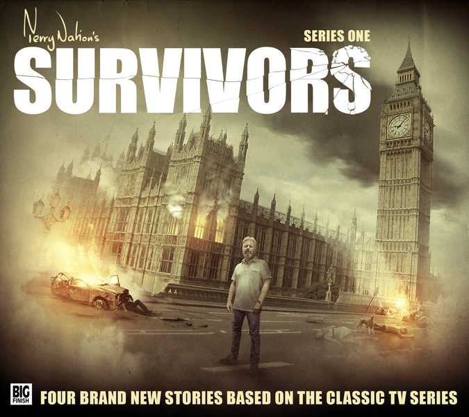 Big Finish - Survivors - series one - CD cover