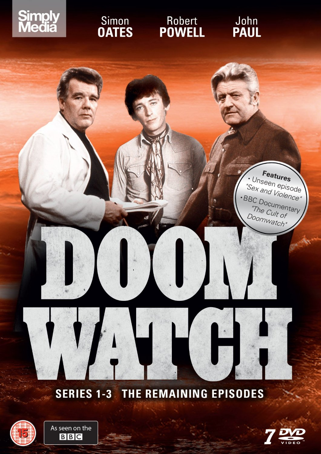 Doomwatch - DVD release - new cover design