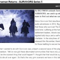 Starburst - Big Finish - Survivors - preview feature