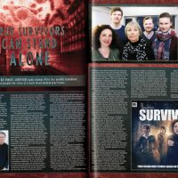 Starburst #438 - Big Finish - Survivors - series six - preview